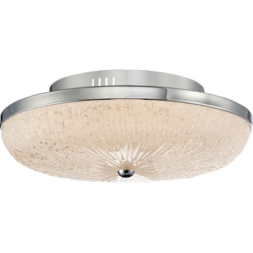 Quoizel Lighting Quoizel Lighting Moon Rays Polished Chrome LED Flushmount Light MYS1616C