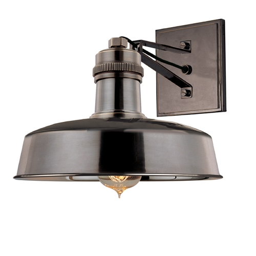 Hudson Valley Lighting Modern Sconce Wall Light in Distressed Bronze Finish 8601-DB