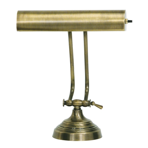 House of Troy Lighting Piano / Banker Lamp in Antique Brass Finish AP10-21-71
