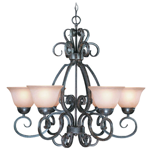 Jeremiah Lighting Jeremiah Sheridan Forged Metal Chandelier 22026-FM