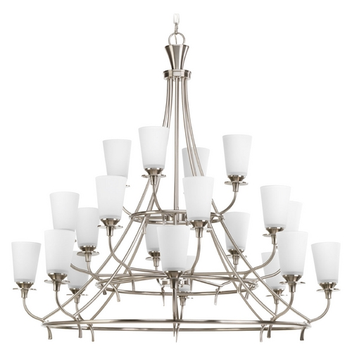 Progress Lighting Progress Lighting Cantata Brushed Nickel Chandelier P4040-09