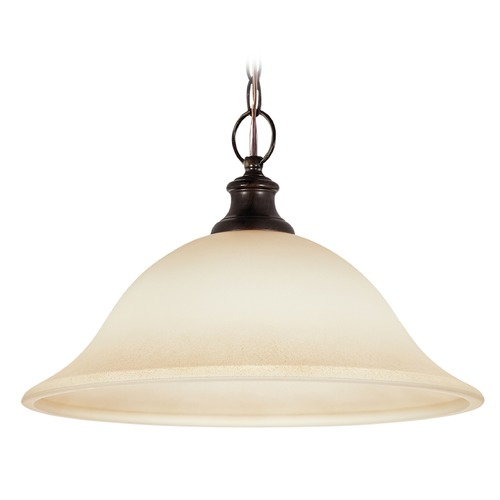 Sea Gull Lighting Sea Gull Lighting Park West Burnt Sienna Pendant Light 65496-710