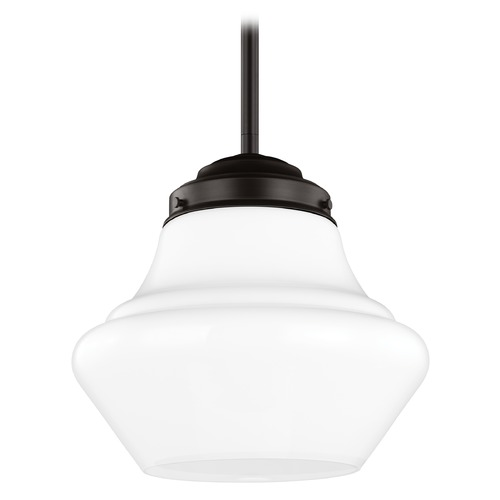Feiss Lighting Feiss Lighting Alcott Oil Rubbed Bronze LED Pendant Light P1406ORB-LED