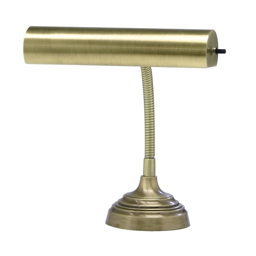 House of Troy Lighting Piano / Banker Lamp in Antique Brass Finish AP10-20-71