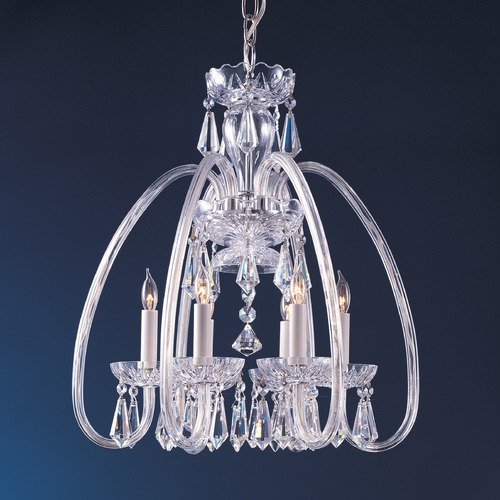 Crystorama Lighting Crystorama Hot Deal 6-Light Crystal Chandelier in Polished Brass 1015-PB-CL-MWP