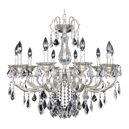 Allegri Lighting Rafael 10 Light Crystal Chandelier 022151-017-FR001