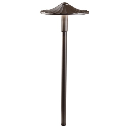 Kichler Lighting Kichler Lighting Textured Architectural Bronze LED Path Light 16125AZT27