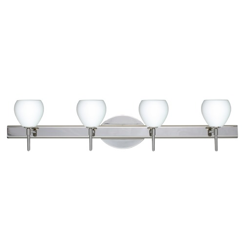 Besa Lighting Besa Lighting Tay Chrome LED Bathroom Light 4SW-560507-LED-CR