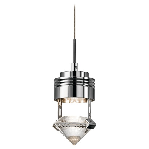 Elan Lighting Elan Lighting Essex Chrome LED Mini-Pendant Light 83337