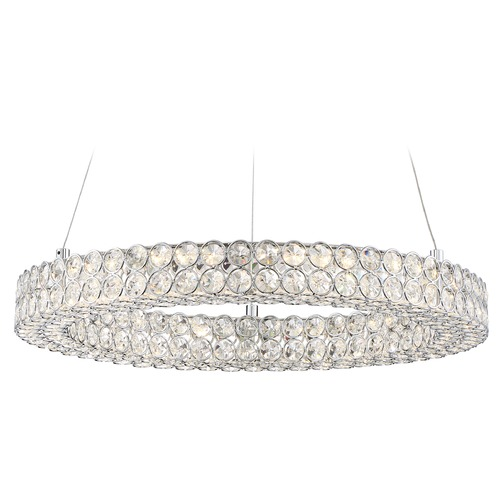 Quoizel Lighting Quoizel Lighting Platinum Infinity Polished Chrome LED Pendant Light PCIN1820C