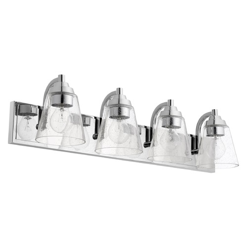 Quorum Lighting Quorum Lighting Chrome Bathroom Light 518-4-14