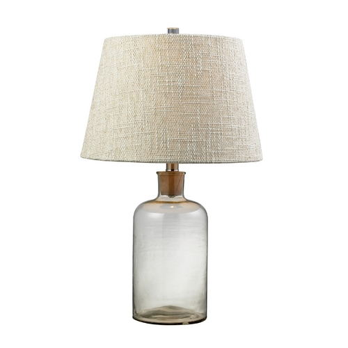 Dimond Lighting Table Lamp with Clear Glass D137