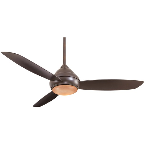 Minka Aire Minka Aire Fans Concept I Wet Oil-Rubbed Bronze Ceiling Fan with Light F477-ORB