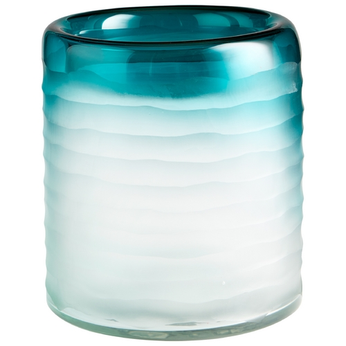Cyan Design Cyan Design Thelonious Blue / Clear Vase 06693