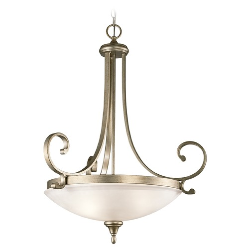 Kichler Lighting Kichler Lighting Monroe Pendant Light with Bowl / Dome Shade 43164SGD