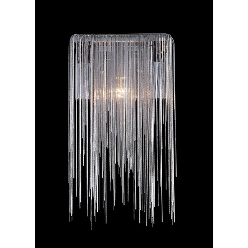 Avenue Lighting Avenue Lighting Fountain Chrome LED Sconce HF-1200-CH-LED