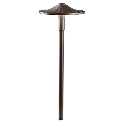 Kichler Lighting Kichler Lighting Textured Architectural Bronze LED Path Light 16125AZT30