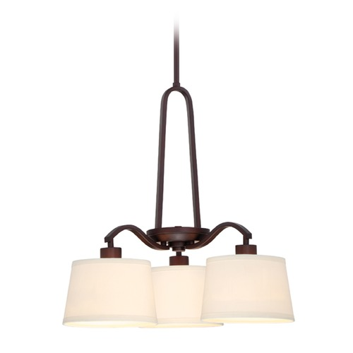 Designers Fountain Lighting Designers Fountain Studio Satin Bronze Mini-Chandelier 88583-SB