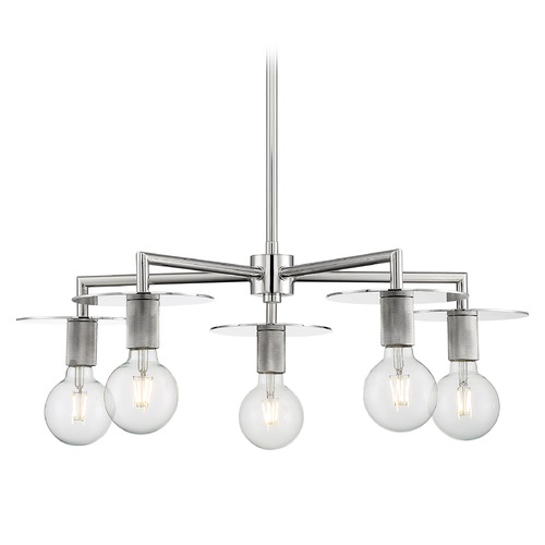 Satco Lighting Satco Lighting Bizet Polished Nickel Chandelier 60/7255