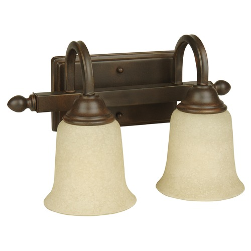 Jeremiah Lighting Jeremiah Madison Aged Bronze Textured Bathroom Light 15214AG2