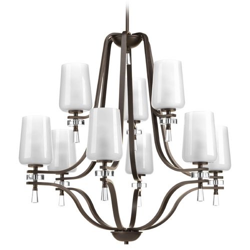 Progress Lighting Progress Lighting Indulge Antique Bronze Chandelier P4090-20