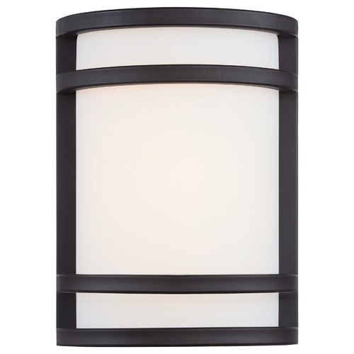 Minka Lavery Minka Lighting Bay View Oil Rubbed Bronze LED Outdoor Wall Light 9801-143-L