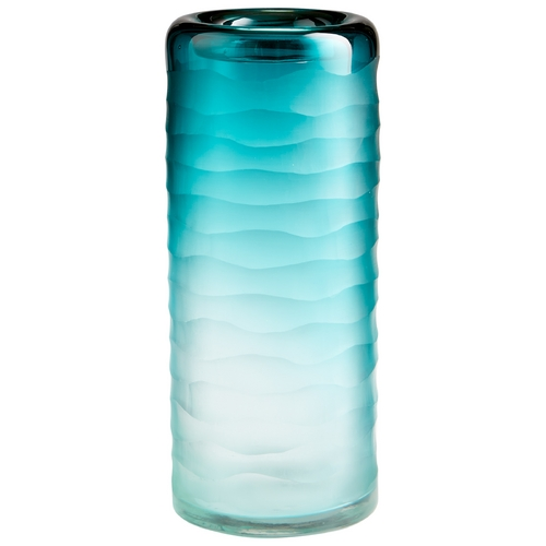 Cyan Design Cyan Design Thelonious Blue / Clear Vase 06694