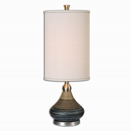 Uttermost Lighting Uttermost Warley Aged Black Table Lamp 29345-1