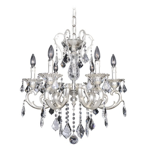 Allegri Lighting Rafael 6 Light Crystal Chandelier 022152-017-FR001