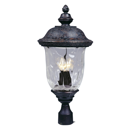 Maxim Lighting Maxim Lighting Carriage House Vx Oriental Bronze Post Light 40420WGOB