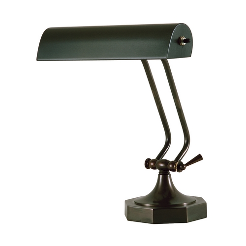 House of Troy Lighting Piano / Banker Lamp in Mahogany Bronze Finish P10-107-81