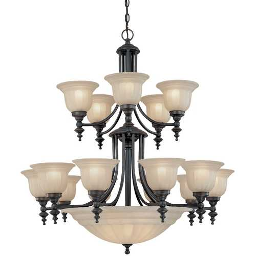Dolan Designs Lighting Eighteen-Light Chandelier 668-78
