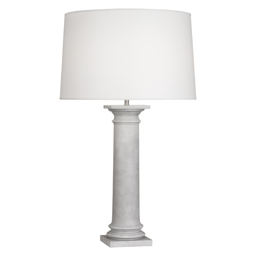 Robert Abbey Lighting Robert Abbey Phoebe Faux Concrete Table Lamp with Empire Shade 872
