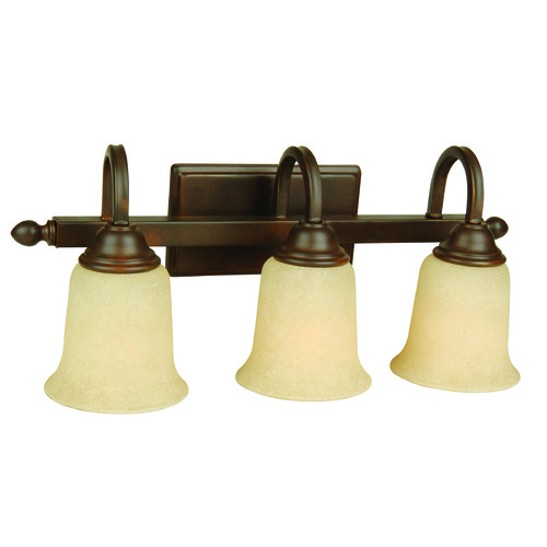 Jeremiah Lighting Jeremiah Madison Aged Bronze Textured Bathroom Light 15220AG3