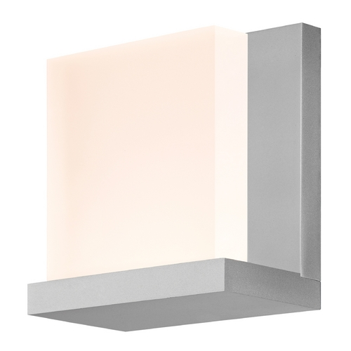 Sonneman Lighting Modern LED Sconce Wall Light in Aluminum Finish 2350.16