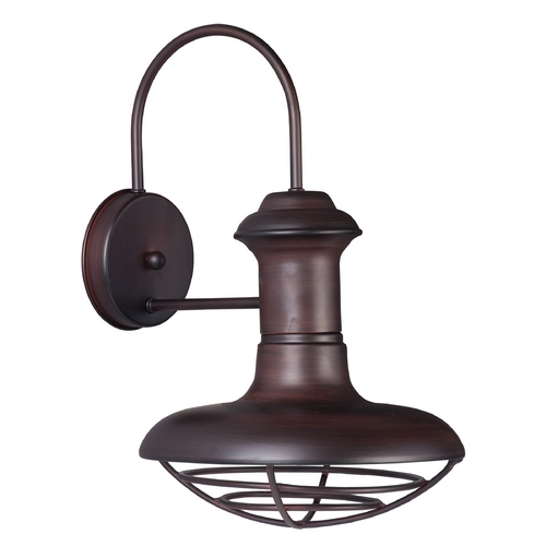 Maxim Lighting Maxim Lighting Wharf Oriental Bronze Outdoor Wall Light 35012OB