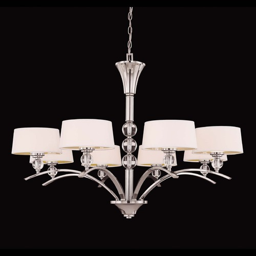 Savoy House Savoy House Polished Nickel Chandelier 1-1036-8-109