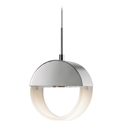 Elan Lighting Elan Lighting Anello Chrome LED Mini-Pendant Light 83363