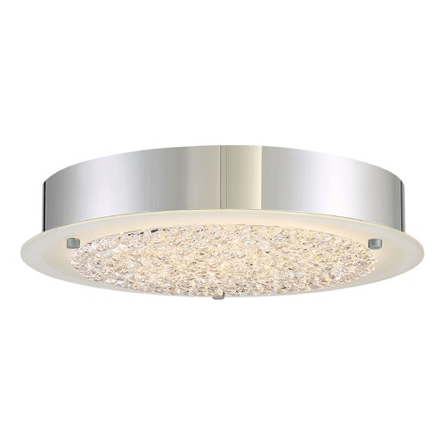 Quoizel Lighting Quoizel Lighting Platinum Blaze Polished Chrome LED Flushmount Light PCBZ1612C