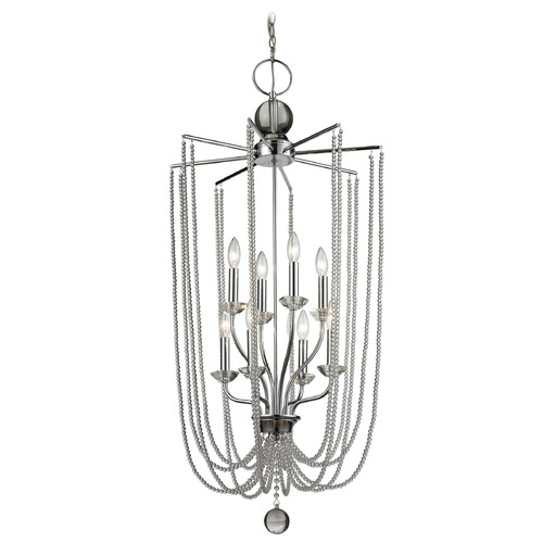 Z-Lite Z-Lite Serenade Chrome Pendant Light 429-8C-CH