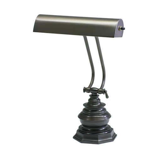 House of Troy Lighting Piano / Banker Lamp in Mahogany Bronze Finish P10-111-MB