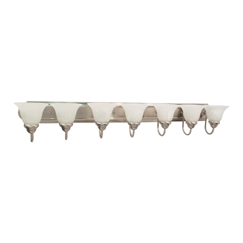 Nuvo Lighting Nuvo Lighting Ballerina Brushed Nickel Bathroom Light 60/291