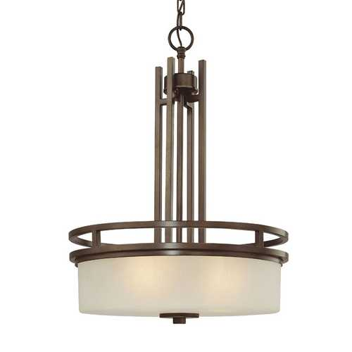 Dolan Designs Lighting Three-Light Mission Inspired Pendant 2884-62