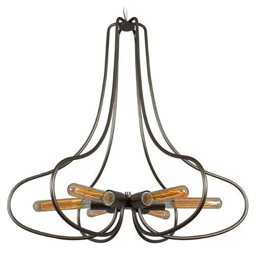 Varaluz Lighting The Whole Package New Bronze Chandelier 229C06NB
