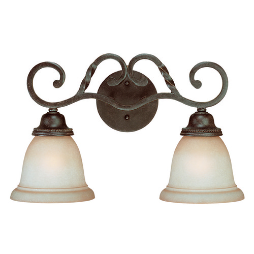 Jeremiah Lighting Jeremiah Sutherland English Toffee Bathroom Light 22402-ET