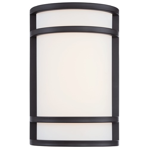 Minka Lavery Minka Lighting Bay View Oil Rubbed Bronze LED Outdoor Wall Light 9802-143-L