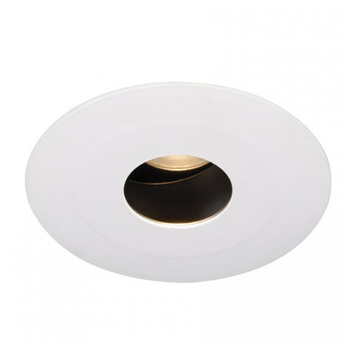 WAC Lighting WAC Lighting Round White 3.5-Inch LED Recessed Trim 3500K 435LM 15 Degree HR3LEDT618PS835WT