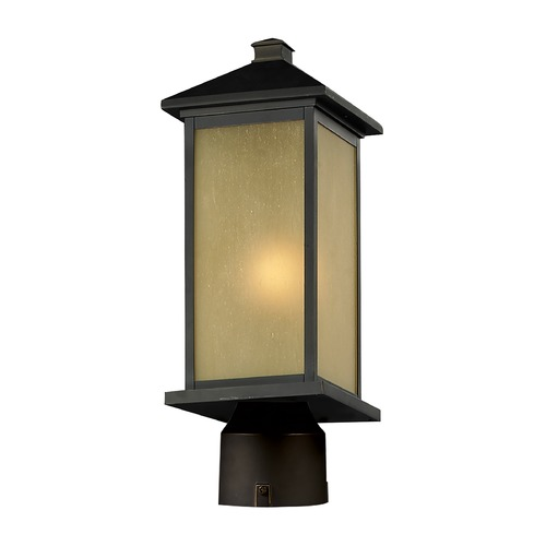 Z-Lite Z-Lite Vienna Oil Rubbed Bronze Post Light 548PHM-ORB-R
