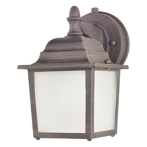 Maxim Lighting Maxim Lighting Builder Cast LED E26 Rust Patina LED Outdoor Wall Light 66924RP