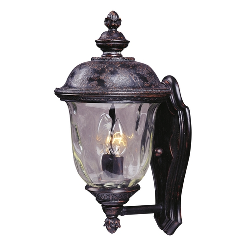 Maxim Lighting Outdoor Wall Light with Clear Glass in Oriental Bronze Finish 40422WGOB